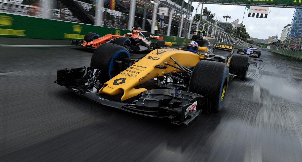 Screenshot for F1 2017 on PC