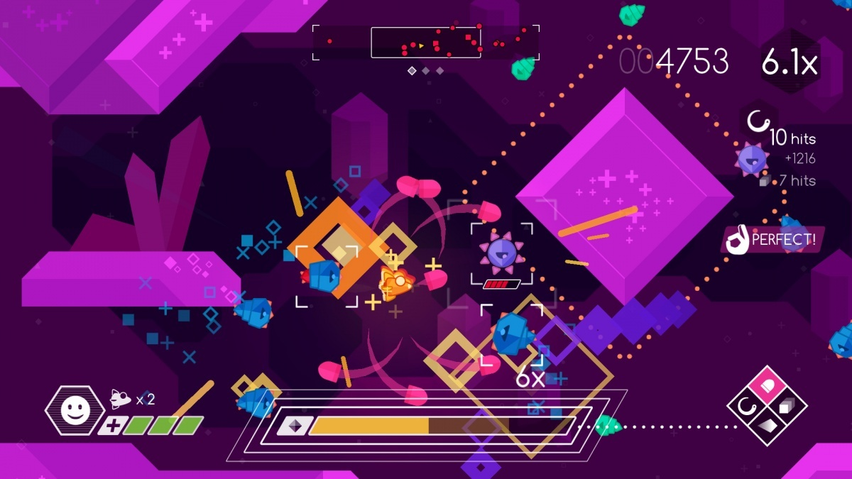 Screenshot for Graceful Explosion Machine on PC