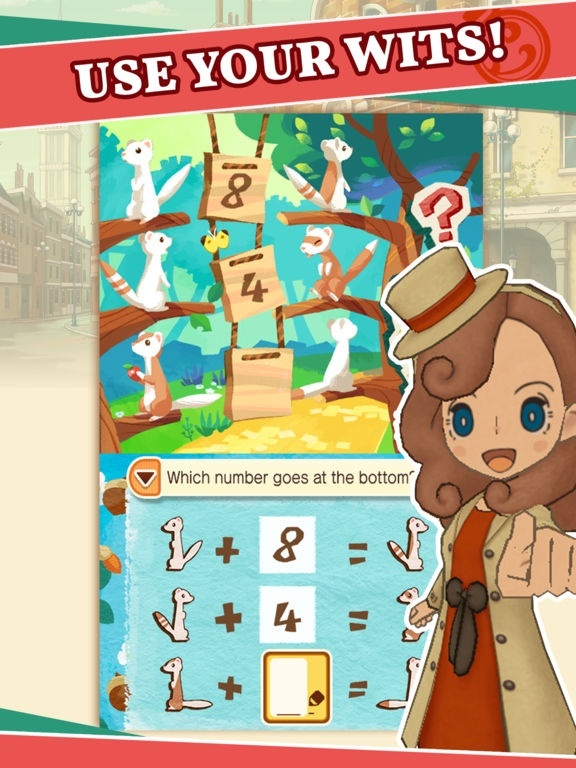 Screenshot for Layton's Mystery Journey: Katrielle and the Millionaires' Conspiracy on iOS