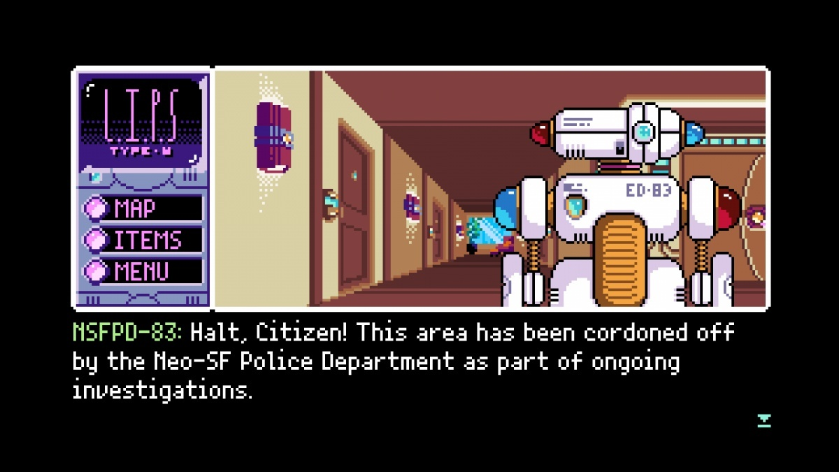 Screenshot for 2064: Read Only Memories on PlayStation 4