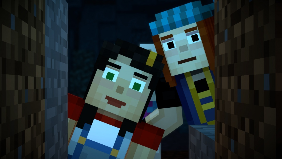 Minecraft Story Mode Season Two Episode 1 Hero In Residence Pc