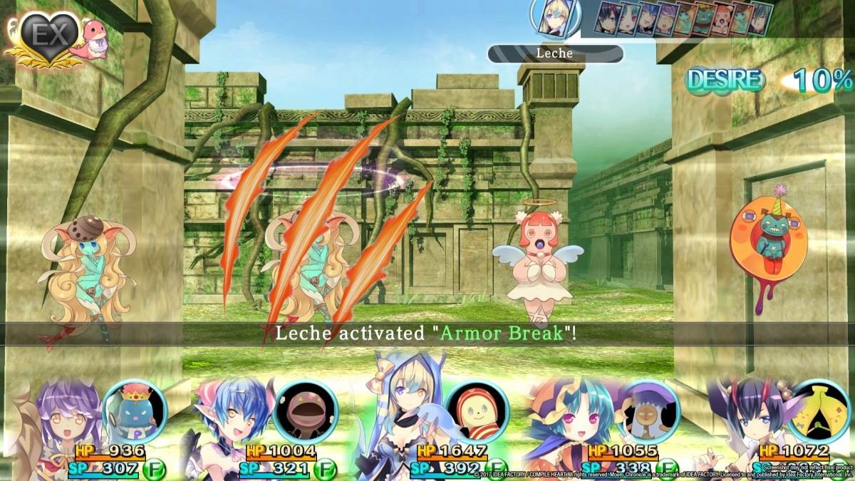 Screenshot for Moero Chronicle on PC