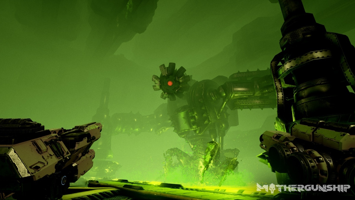 Screenshot for MOTHERGUNSHIP on PC