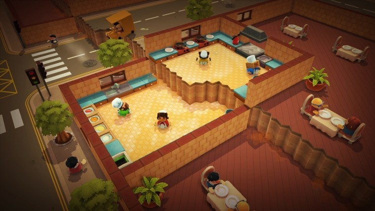Screenshot for Overcooked! Special Edition on Nintendo Switch