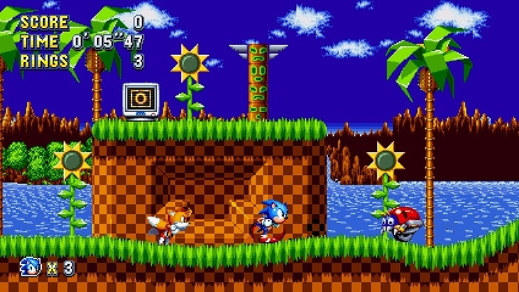 Screenshot for Sonic Mania Plus on Nintendo Switch