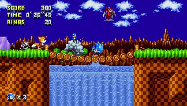 Screenshot for Sonic Mania on PlayStation 4