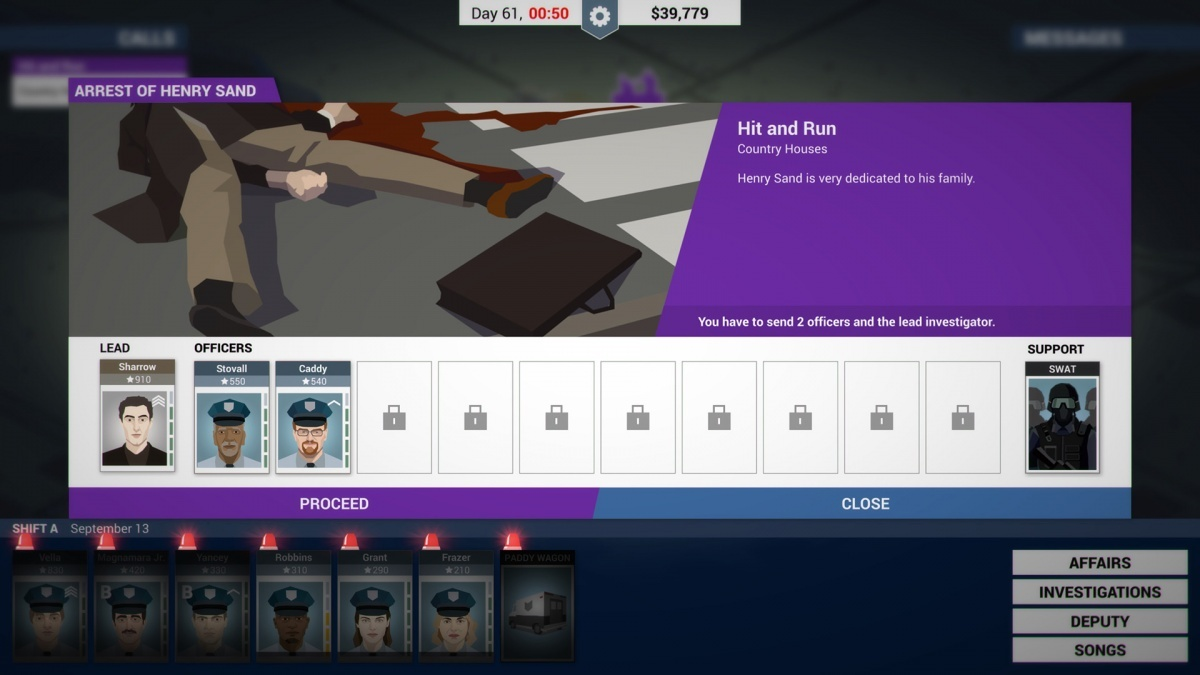 Screenshot for This Is the Police on PlayStation 4