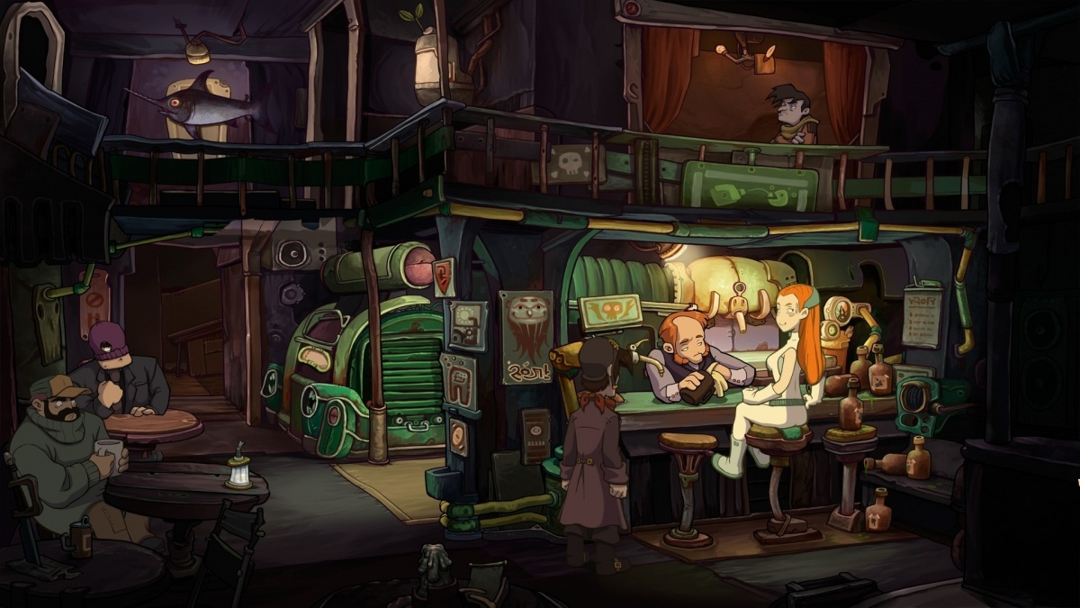 Screenshot for Chaos on Deponia on PlayStation 4