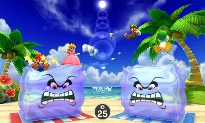 Screenshot for Mario Party: The Top 100 on Nintendo 3DS