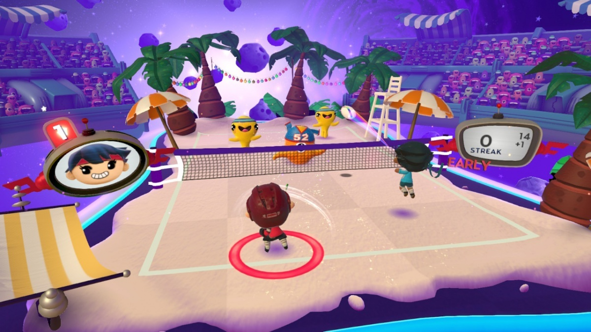 Screenshot for Super Beat Sports on Nintendo Switch