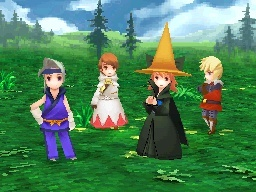 Screenshot for Final Fantasy III on Nintendo DS