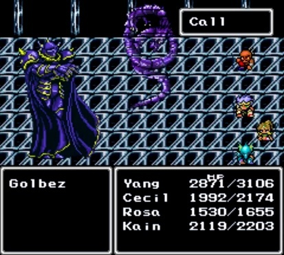 Screenshot for Final Fantasy IV on Super Nintendo