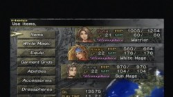 Screenshot for Final Fantasy X-2 - click to enlarge