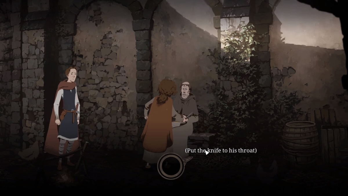 Screenshot for Ken Follett's The Pillars of the Earth: Book Two on PC