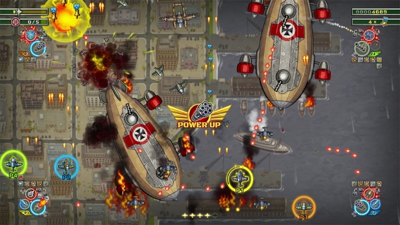 Screenshot for Aces of the Luftwaffe: Squadron on Nintendo Switch