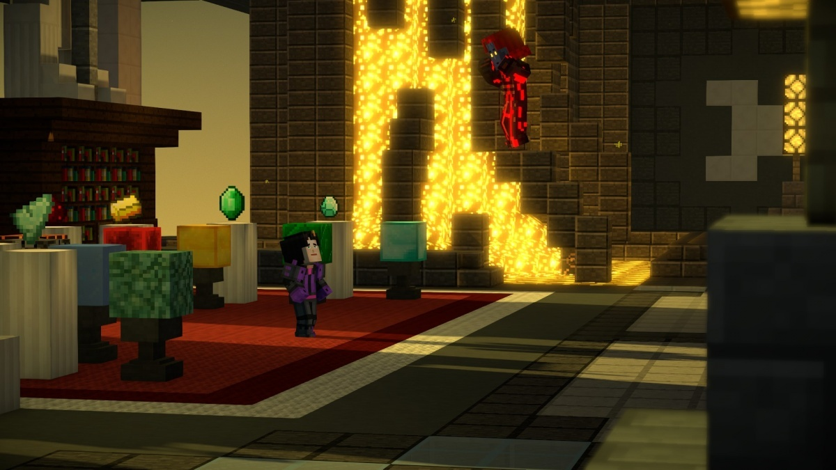 Screenshot for Minecraft: Story Mode Season Two - Episode 5: Above and Beyond on Xbox One