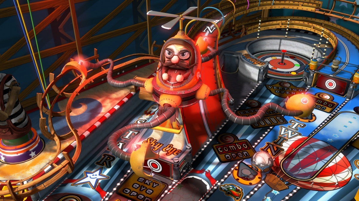 Pinball FX3: Carnivals and Legends Nintendo Switch Screens