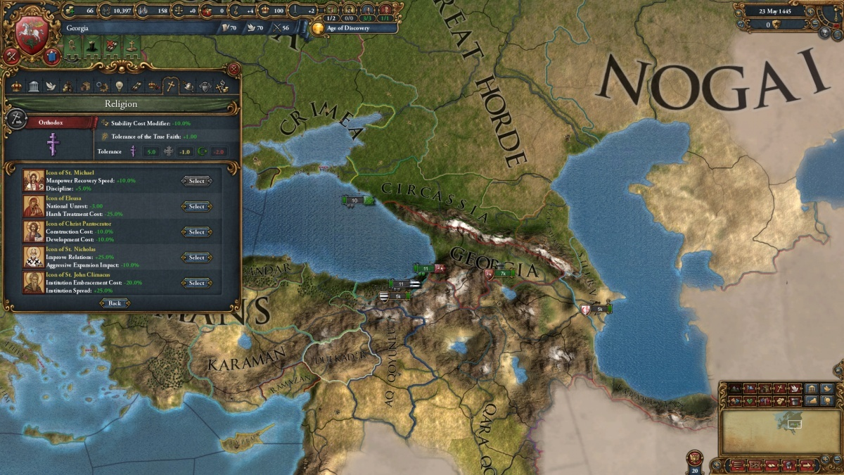 Screenshot for Europa Universalis IV: Third Rome  on PC