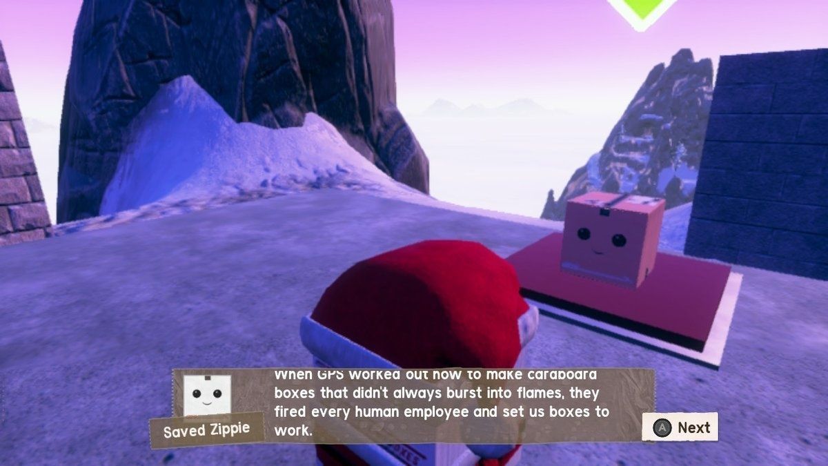 Screenshot for Unbox: Newbie's Adventure on Nintendo Switch