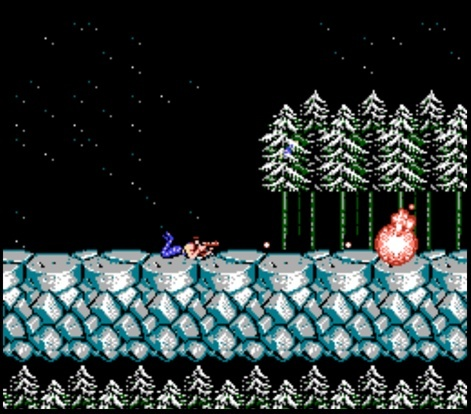 Screenshot for Contra on NES