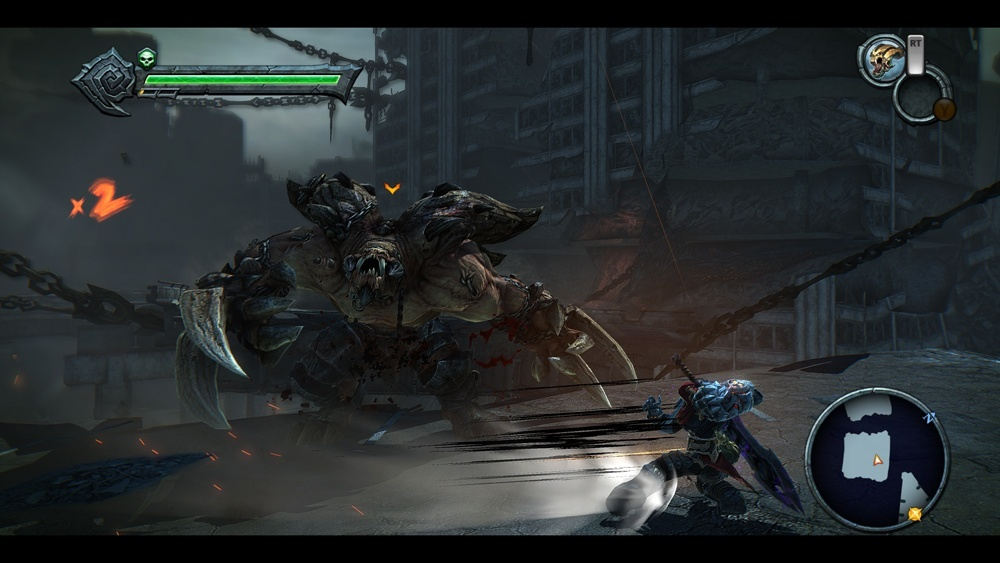 Screenshot for Darksiders: Warmastered Edition on PC