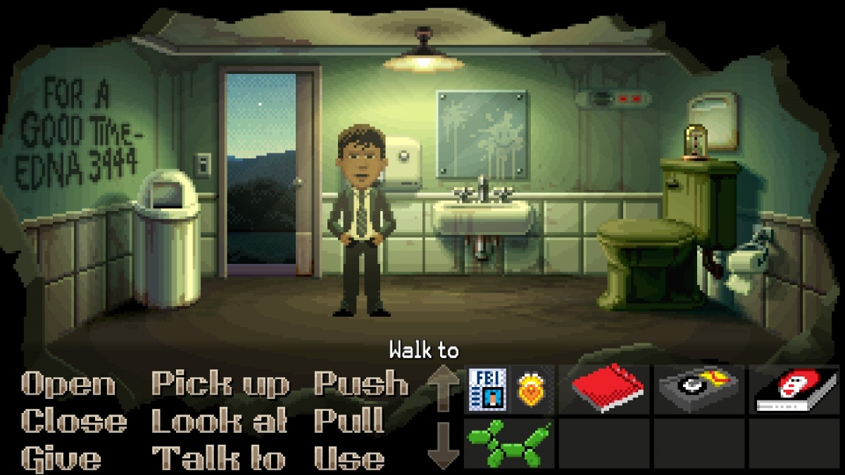 Screenshot for Thimbleweed Park on Xbox One