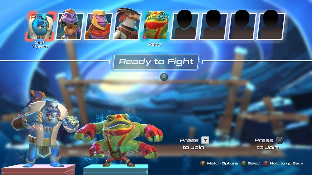 Screenshot for Brawlout on PC