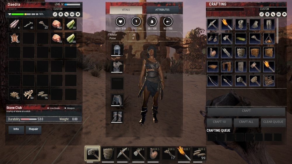 conan exiles how to find favorites