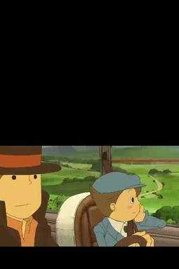 Screenshot for Professor Layton and the Curious Village on Nintendo DS
