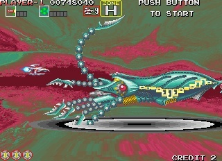 Screenshot for Darius Gaiden on Arcade