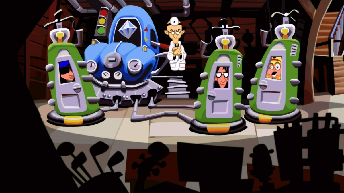 Screenshot for Day of the Tentacle Remastered on iOS