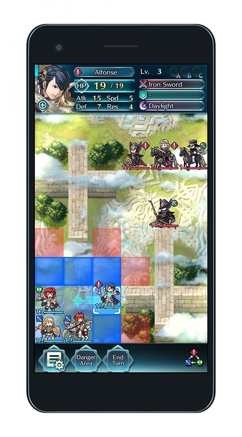 Screenshot for Fire Emblem Heroes on iOS