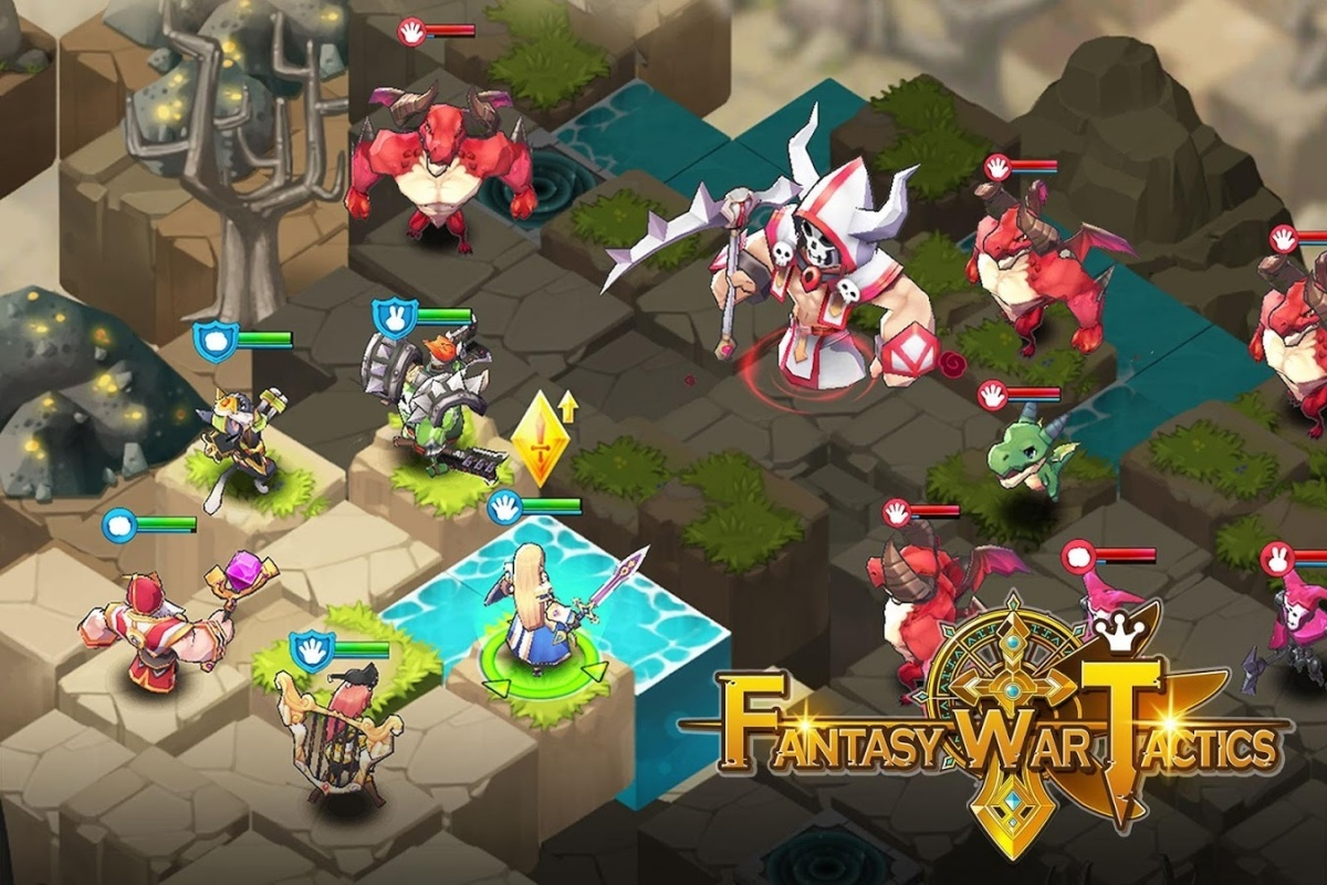 Screenshot for Fantasy War Tactics on iOS