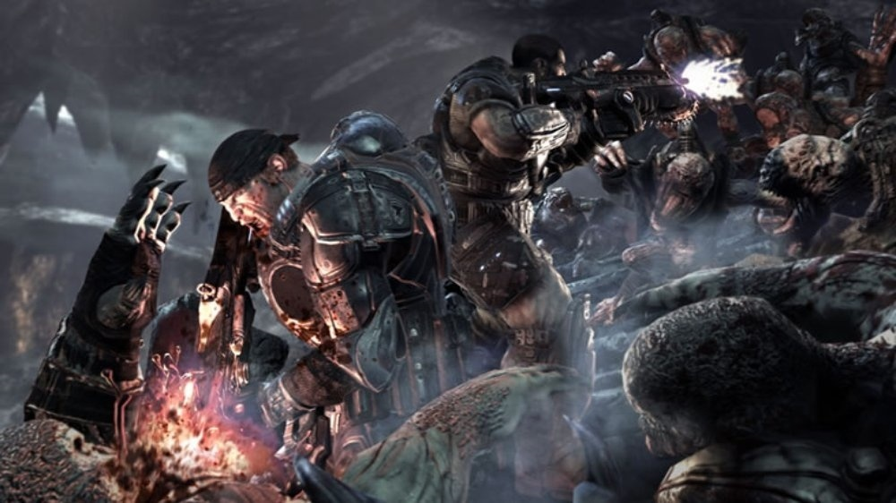 Screenshot for Gears of War on Xbox 360