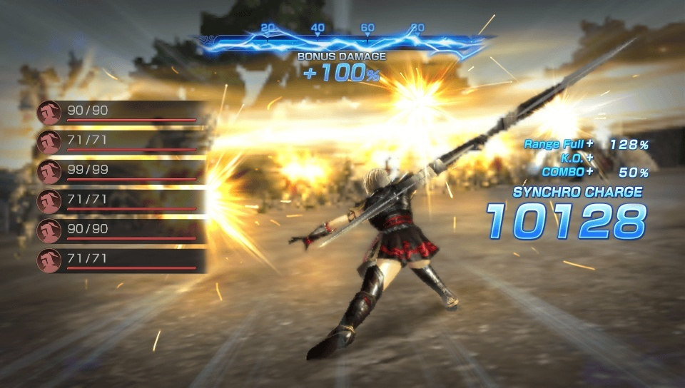 Screenshot for Dynasty Warriors: Godseekers on PS Vita