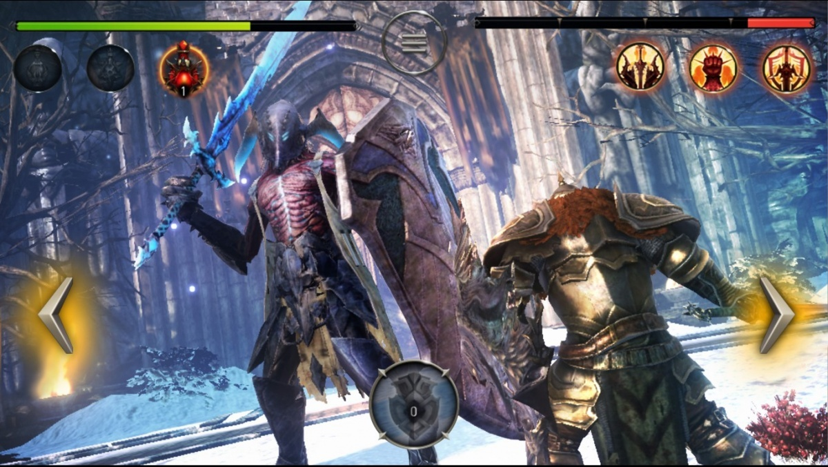 Screenshot for Lords of the Fallen on iOS