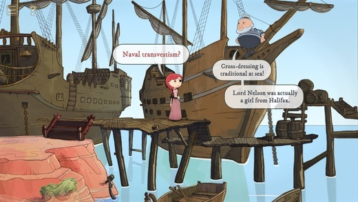 Screenshot for Nelly Cootalot: The Fowl Fleet on iOS