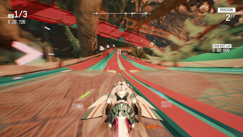 Screenshot for Redout on PC