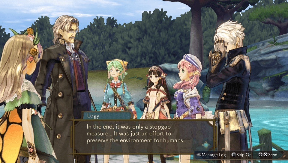 Screenshot for Atelier Dusk Trilogy on PlayStation 4
