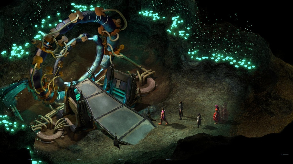 Screenshot for Torment: Tides of Numenera on PlayStation 4