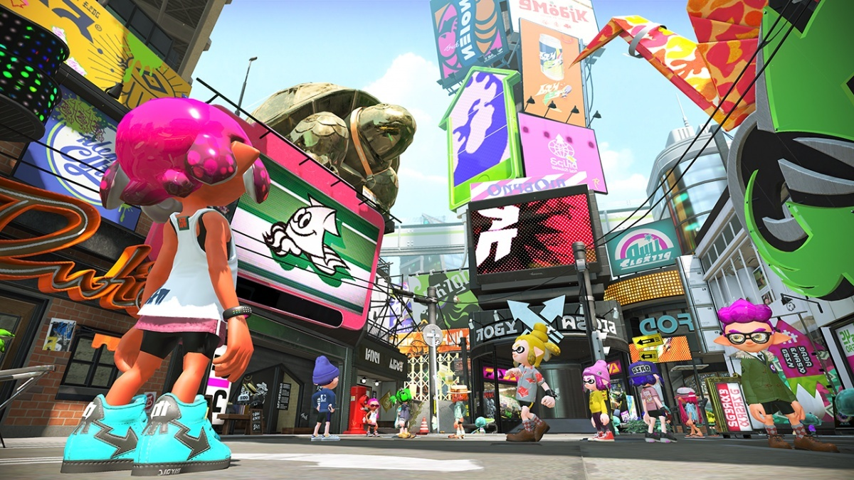Screenshot for Splatoon 2 Single-Player Hero Mode on Nintendo Switch