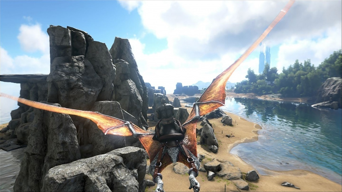Screenshot for ARK: Survival Evolved on PlayStation 4