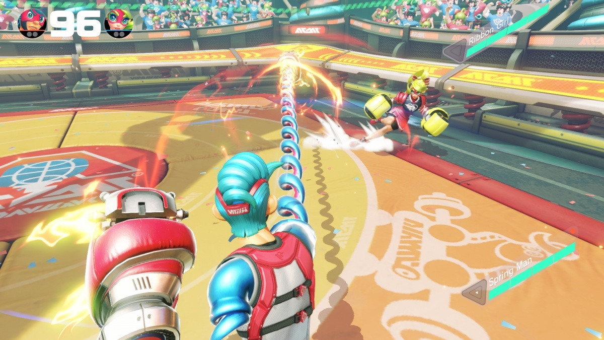 Screenshot for ARMS on Nintendo Switch