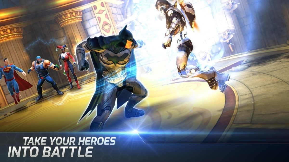 Screenshot for DC Legends on iOS
