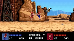 Screenshot for Double Dragon IV - click to enlarge
