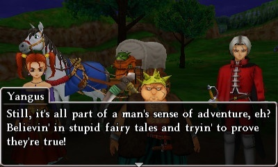 Screenshot for Dragon Quest VIII: Journey of the Cursed King on Nintendo 3DS