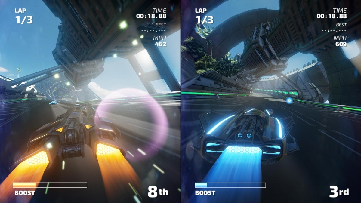Screenshot for FAST RMX on Nintendo Switch