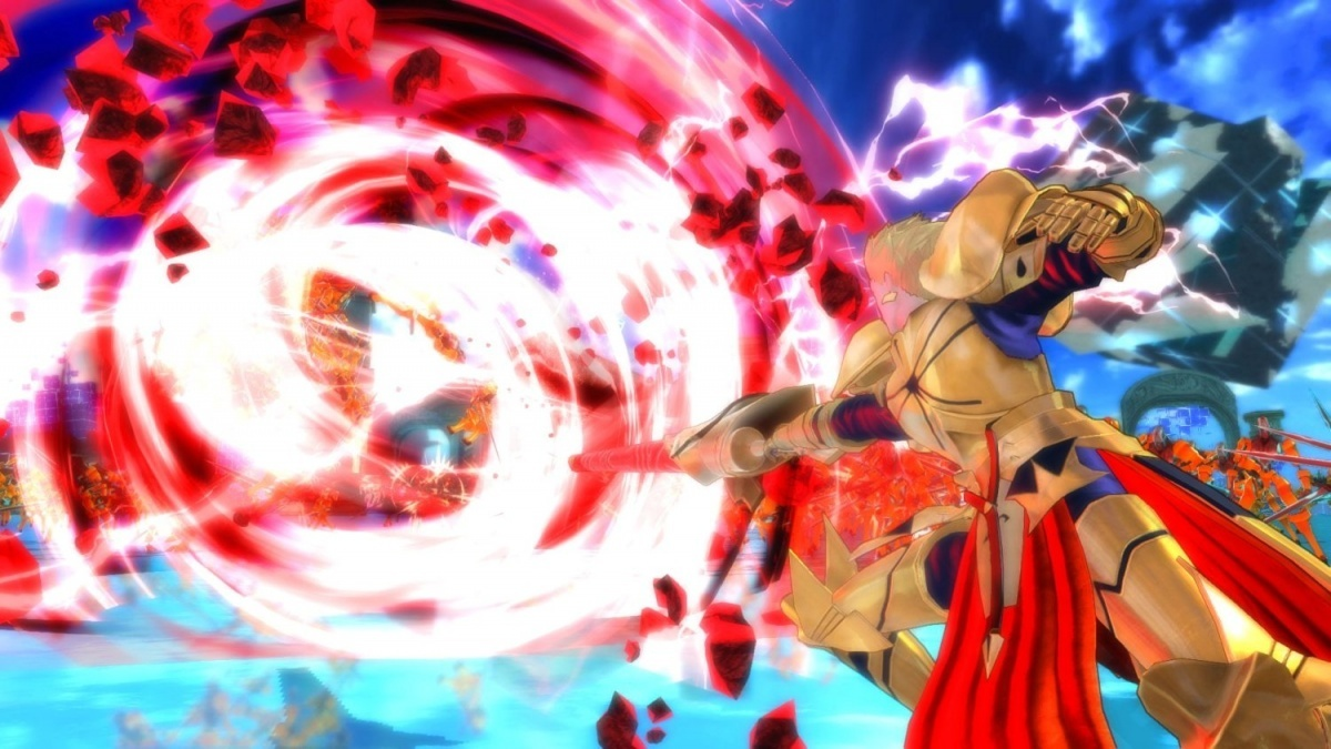 Screenshot for Fate/Extella: The Umbral Star on Nintendo Switch