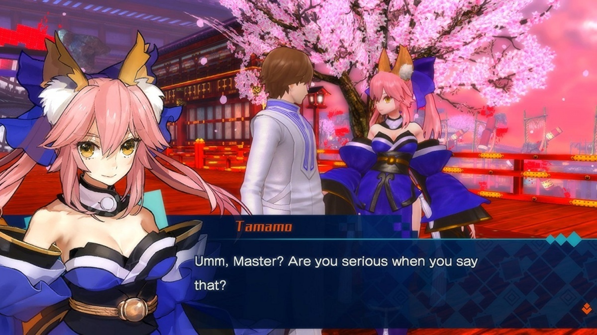 Screenshot for Fate/Extella: The Umbral Star on PS Vita