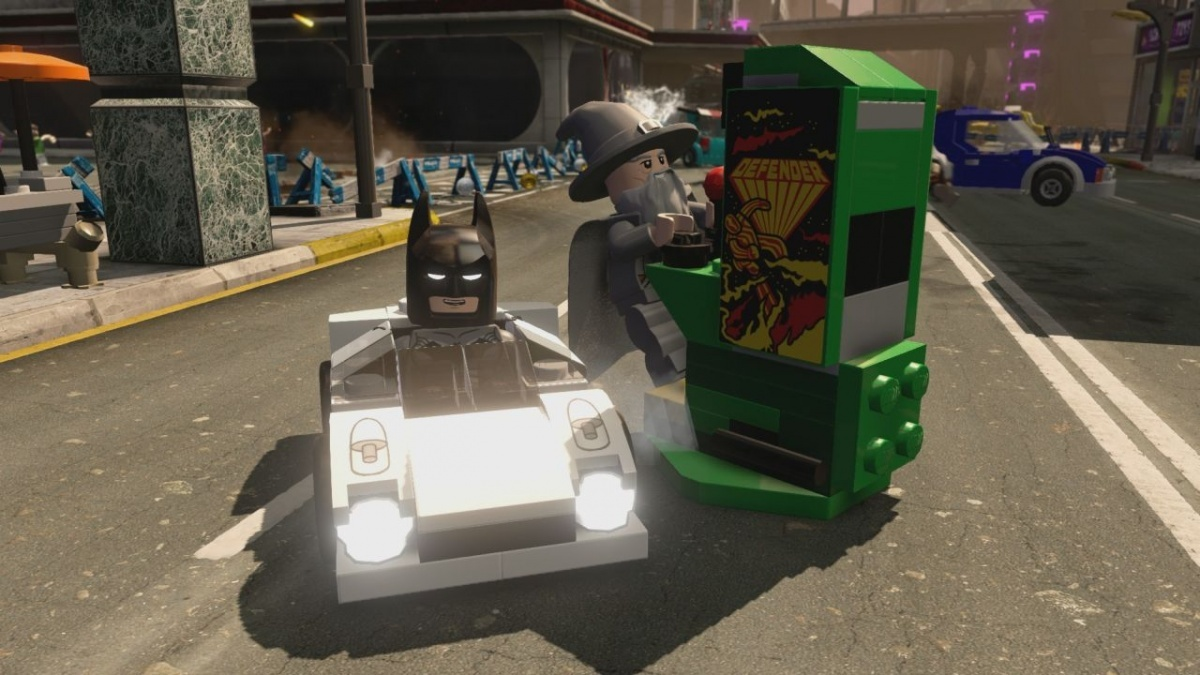 Screenshot for LEGO Dimensions: Midway Arcade on Wii U